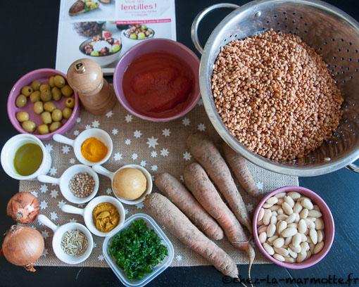 Dahl fa on tajine marmotte cuisine - Comment cuisiner des lentilles blondes ...